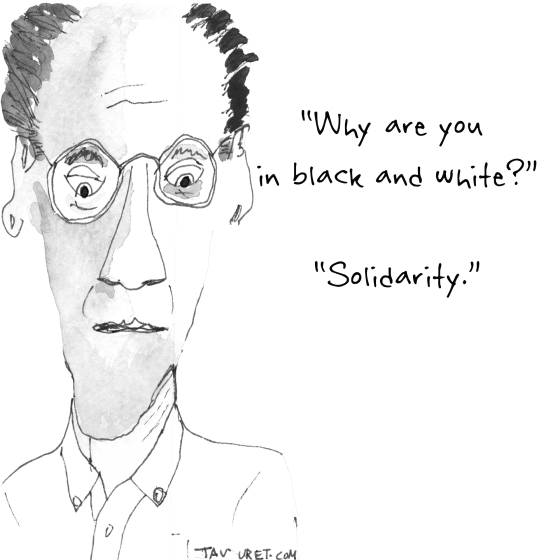 Mourning Cartoon January 10, 2015