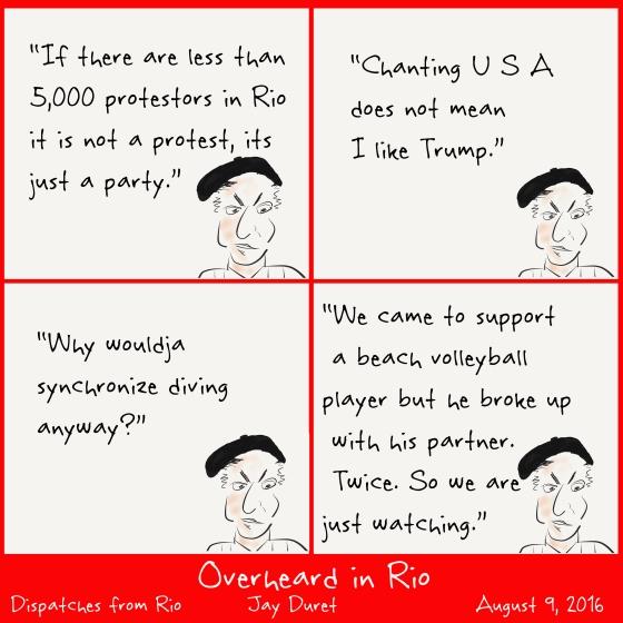 Overheard in Rio