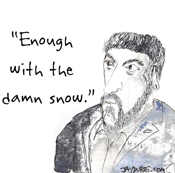 Snow February 11, 2015