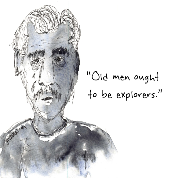 Explorers March 24, 2015 From East Coker by T.S Eliot