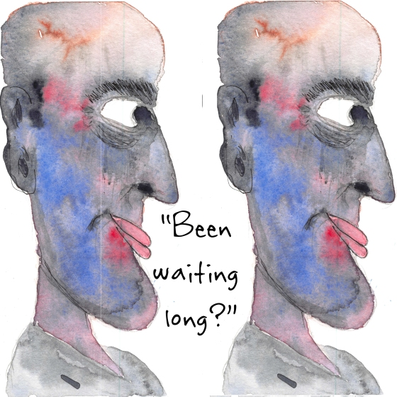 Waiting April 16, 2015