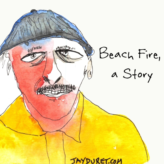 Beach Fire May 3, 2015