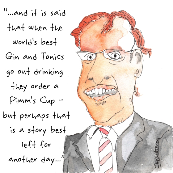 From the History of the American Gin and Tonic August 25, 2014