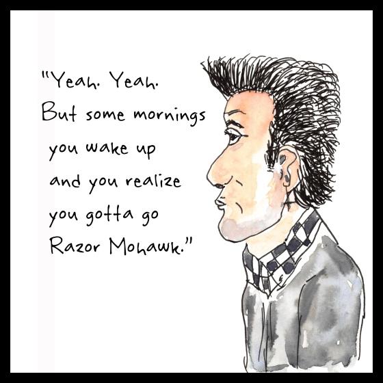 Razor Mohawk