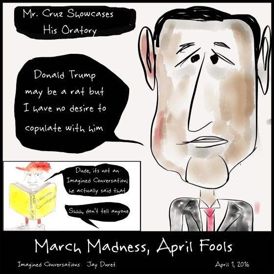 March Madness, April Fools