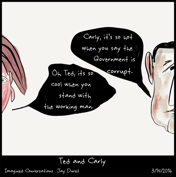 Ted and Carly