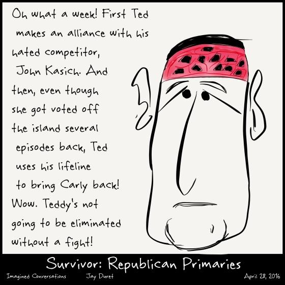 Survivor: Republican Primaries April 28, 2016