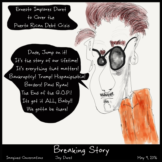 Breaking Story May 9, 2016