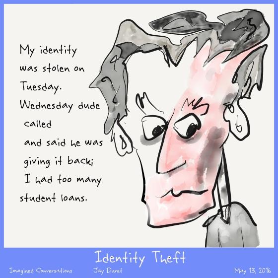 Identity Theft May 13, 2016