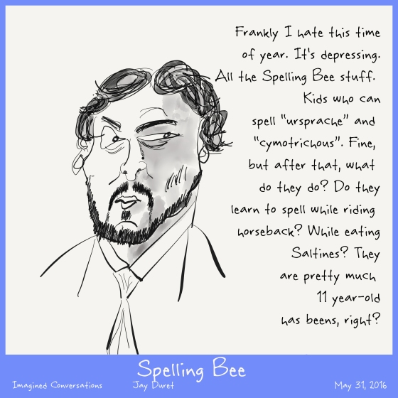 Spelling Bee May 31, 2016