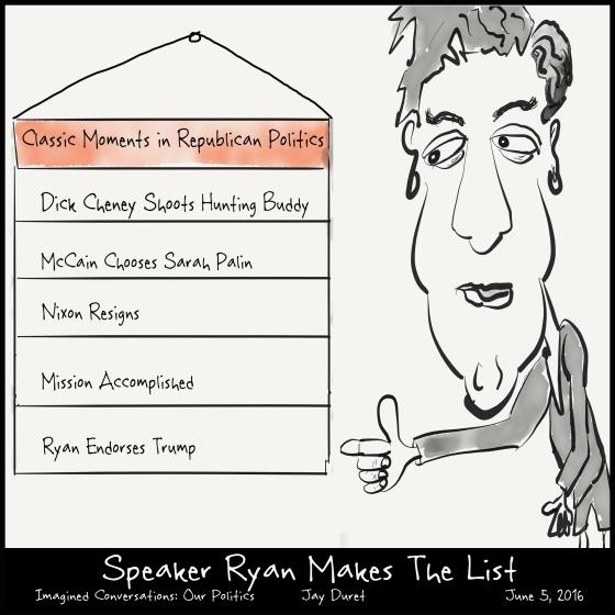 Speaker Ryan Makes the List June 5, 2016
