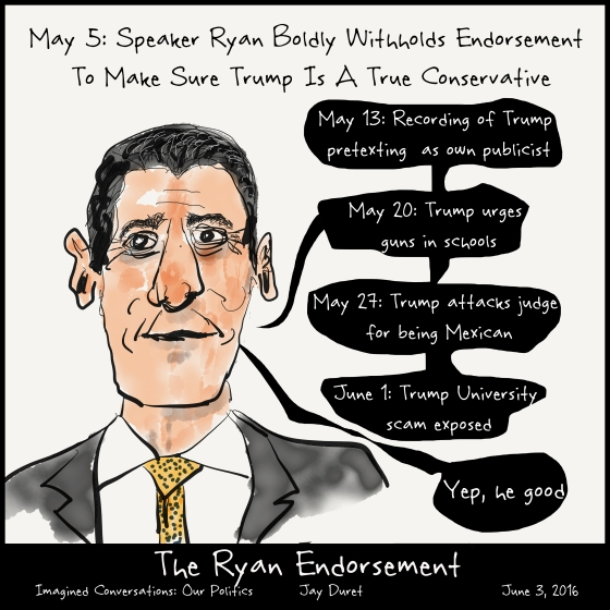 The Ryan Endorsemnt