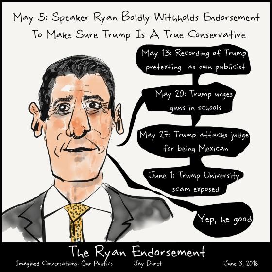 The Ryan Endorsement June 3, 2016