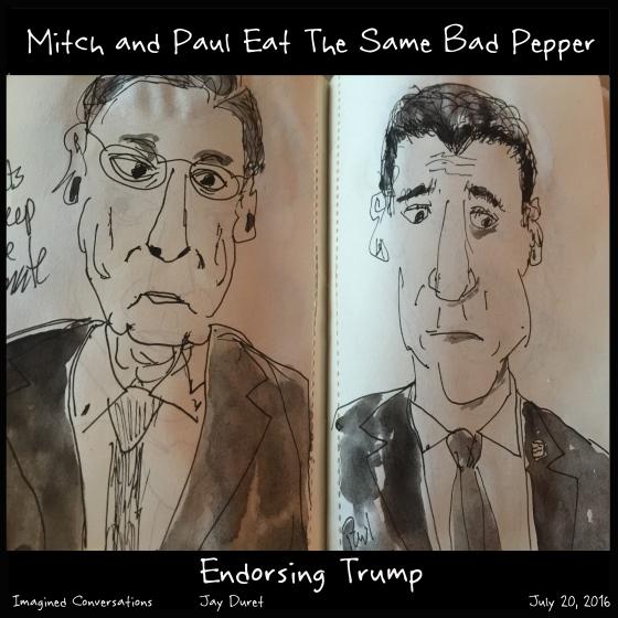 Endorsing Trump July 20, 2016