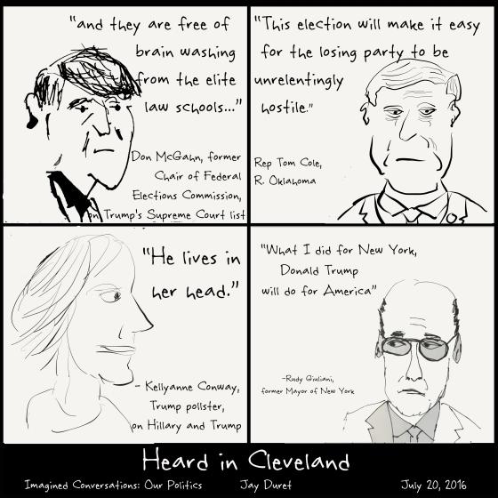Heard in Cleveland July 20, 2016