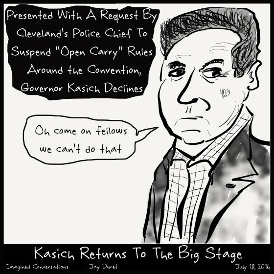 Kasich Returns July 18, 2016