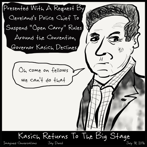 Kasich Returns July 18, 2016