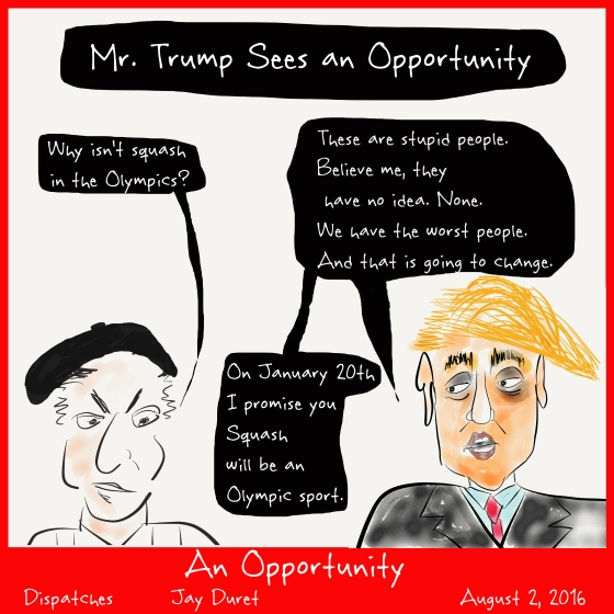An Opportunity August 2, 2016