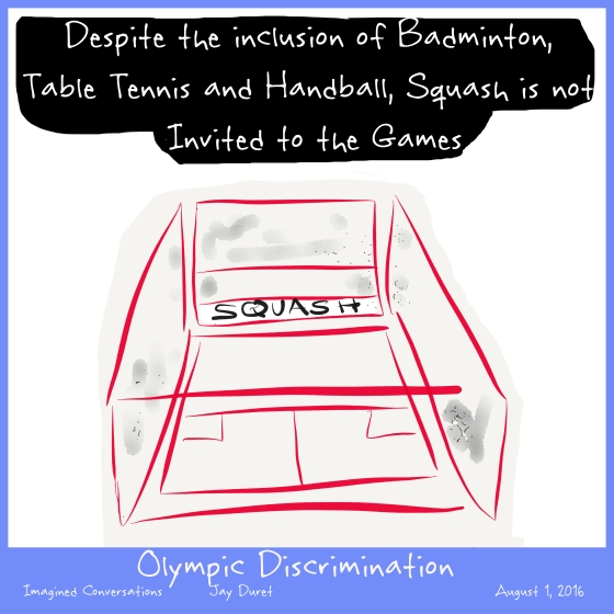 Olympic Discrimination August 1, 2016