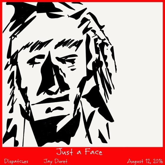 Just a Face August 12, 2016