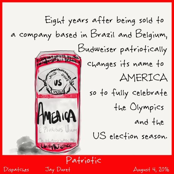 Patriotic August 4, 2016