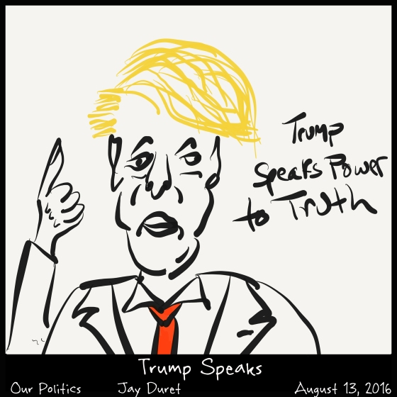 Trump Speaks August 14, 2016