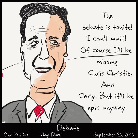 Debate September 26, 2016