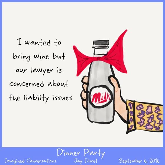 DInner Party September 6, 2016