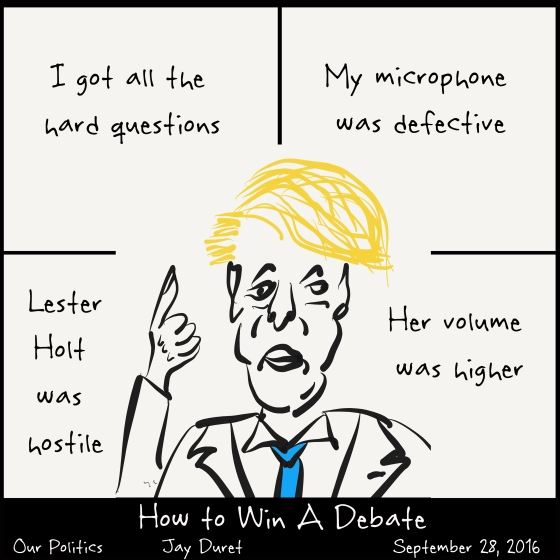How to Win a Debate September 28, 2016