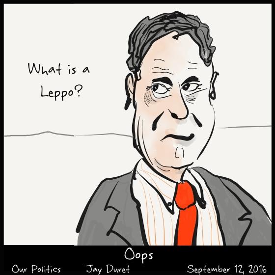 Oops September 12, 2016