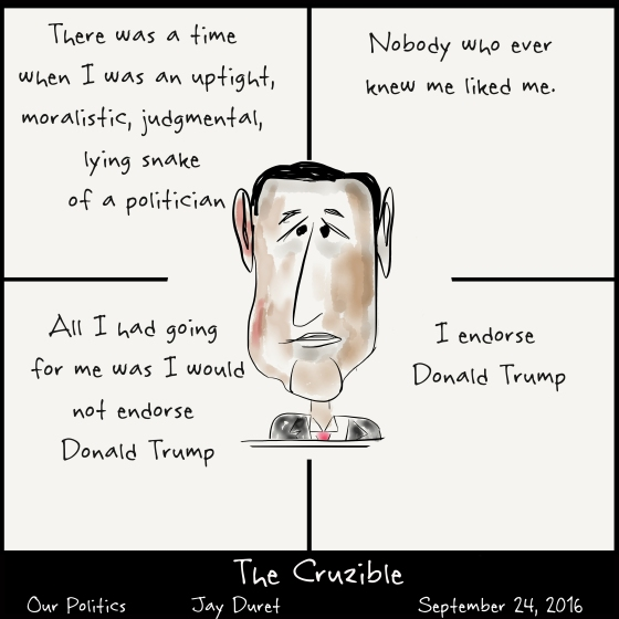 The Cruzible September 24, 2016