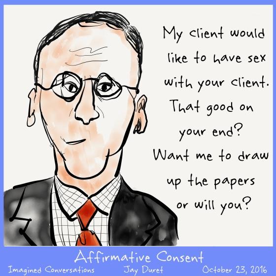 Affirmative Consent October 23, 2016