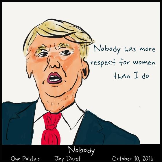 Nobody October 10, 2016