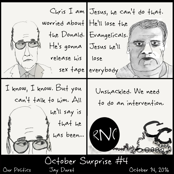 October Surprise #4 October 14, 2016