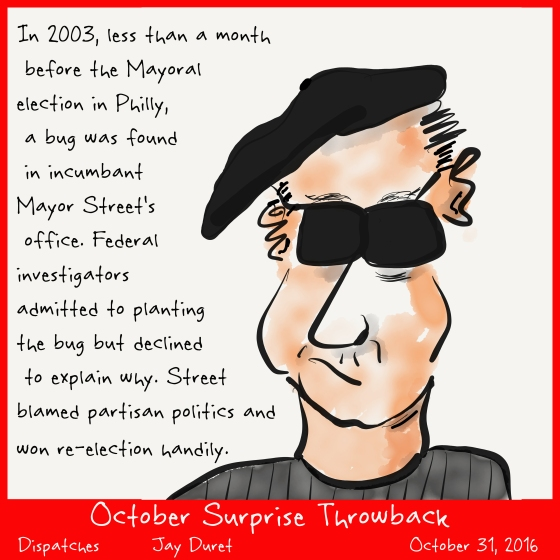 October Surprise Throwback October 31, 2016