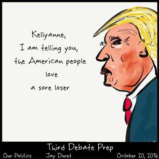 Third Debate Prep October 20, 2016