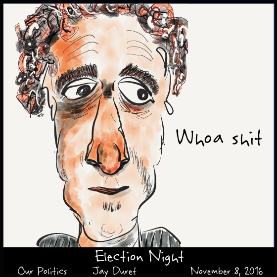 Election Night November 8, 2016