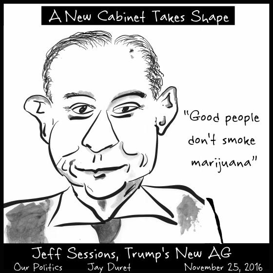 Jeff Sessions November  25, 2016