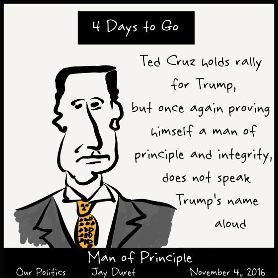 Man of Principle November 4, 2016