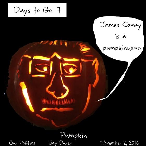 Pumpkin November 2, 2016