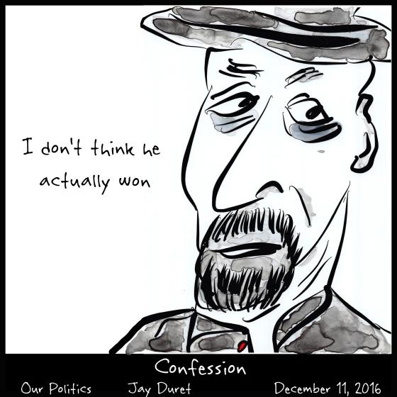 Confession December 11, 2016