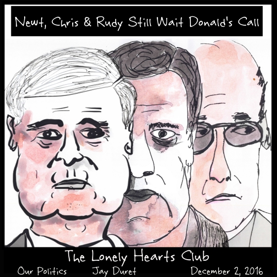 Lonely Hearts Club December 2, 2016