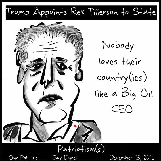 Patriotism(s) December 13, 2016