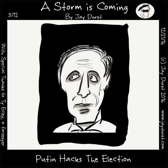 Putin Hacks the Election December 21, 2016