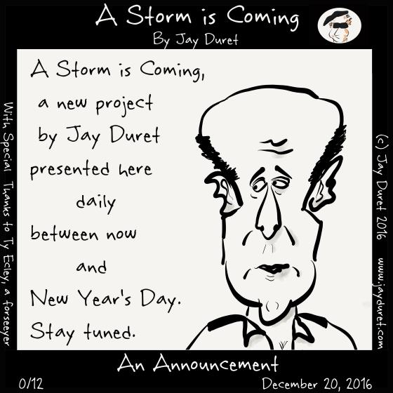 Announcement December 20, 2016