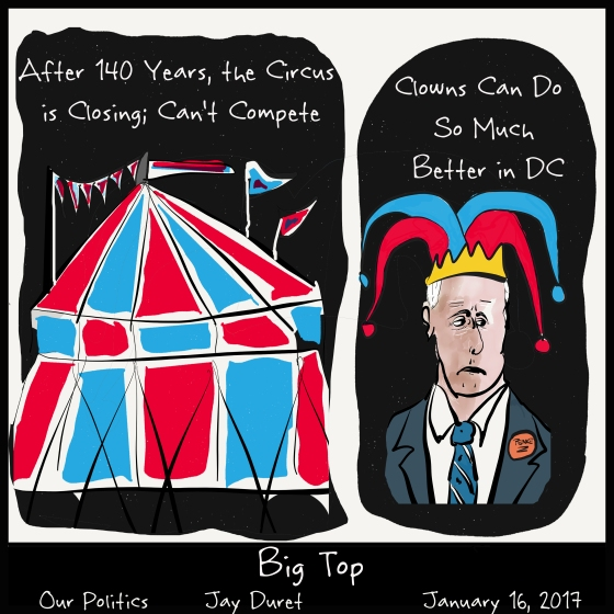 Big Top January 16, 2017