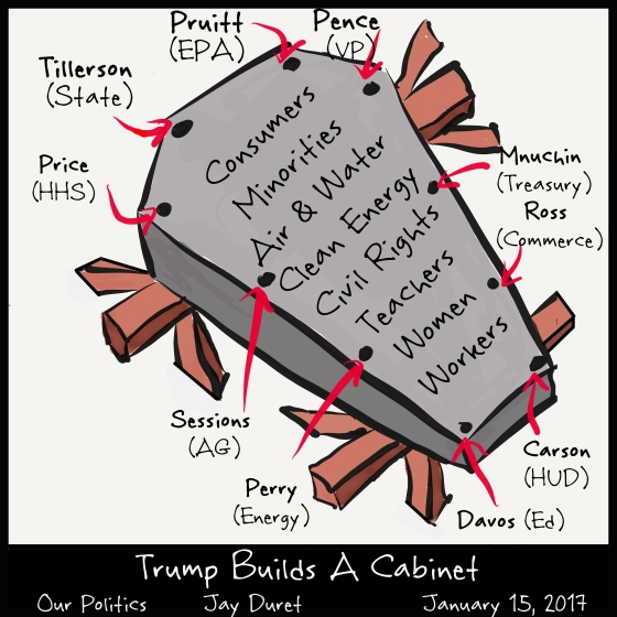 Trumps Builds A Cabinet January 15, 2017