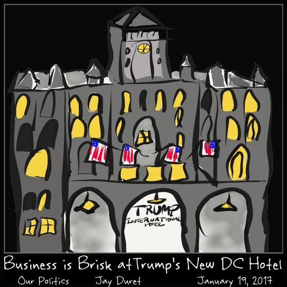 Hotel Trump  January 19, 2017