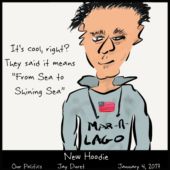 New Hoodie January 4, 2017