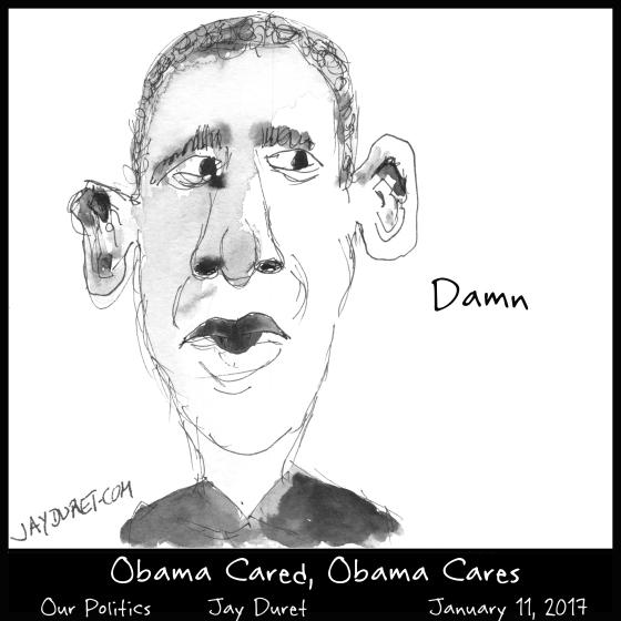 Obama Cared January 11, 2017